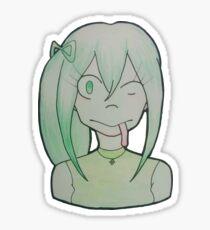 Tsuyu Sticker