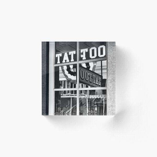 Tattoo Too Acrylic Block