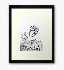 'tattoo' Framed Print