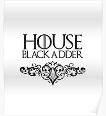 House Blackadder - Game of Thrones + Blackadder mix Poster