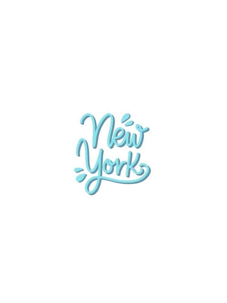 New York Hand Lettering by mirunasfia