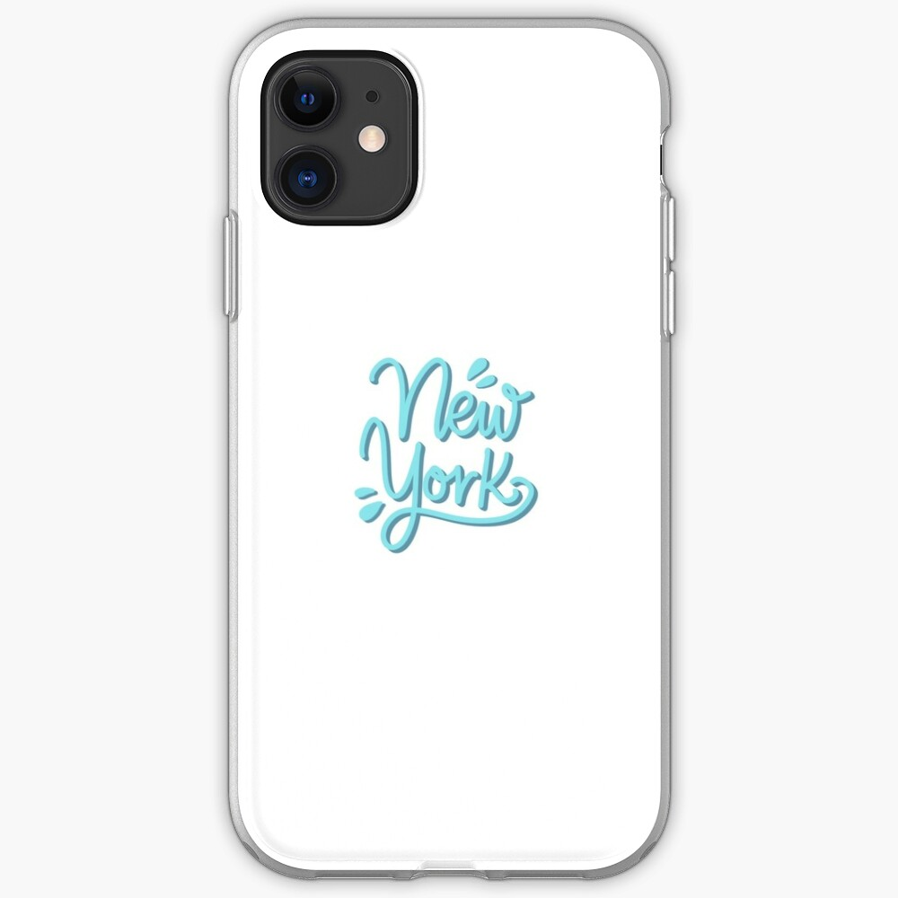 New York Hand Lettering iPhone Case & Cover