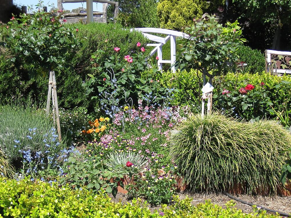 Pretty Garden by Judy Woodman