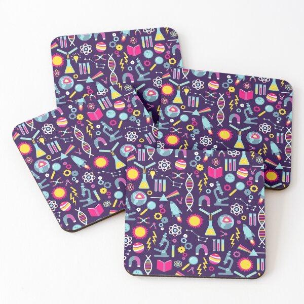 Science Studies Coasters (Set of 4)