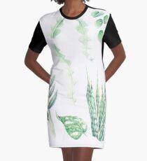Watercolour house plants collection Graphic T-Shirt Dress