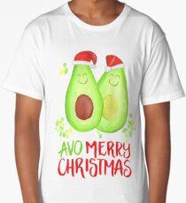 Avocado - Avo Merry Christmas Long T-Shirt