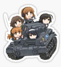 Girls und Panzer Sticker