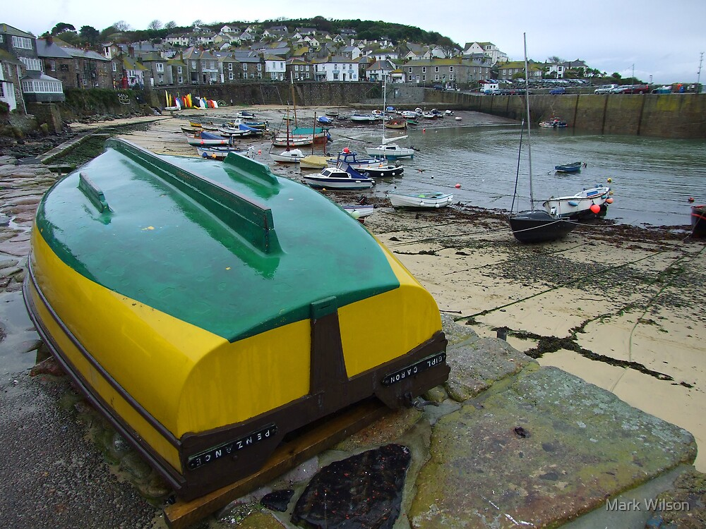Mousehole Harbour by Mark Wilson