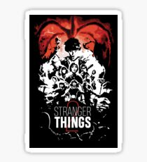 Stranger Things 2 - BWR Sticker