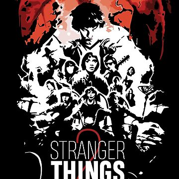 Stranger Things 2 - BWR by martianart