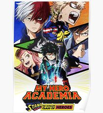 My Hero Academia Poster Poster