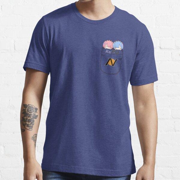 Mini Rem et Ram Pocket T-shirt essentiel