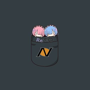 Mini Rem and Ram Pocket by Kitsuneace