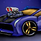 My Car Toon by Randall Robinson