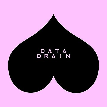 Data Drain Inverse Heart by eventideent
