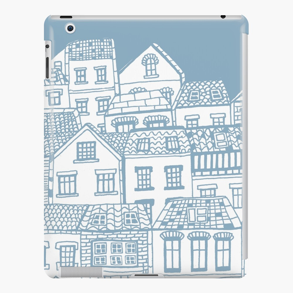 Old city - hand drawing iPad Case & Skin