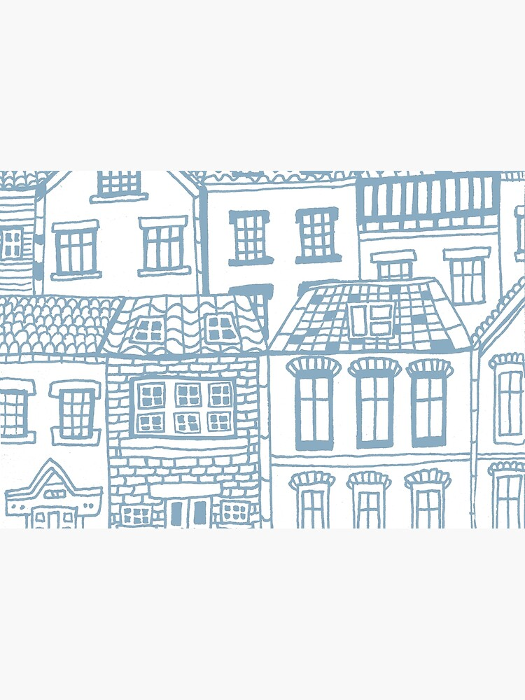 Old city - hand drawing by mirunasfia