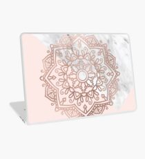 Vogue series - rose gold mandala Laptop Skin