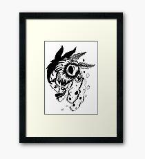 Moth Eaten? Framed Print