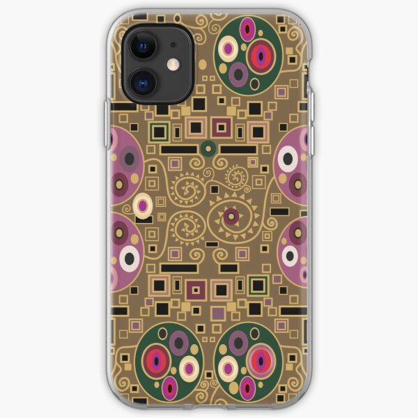 Klimt pattern iPhone Soft Case