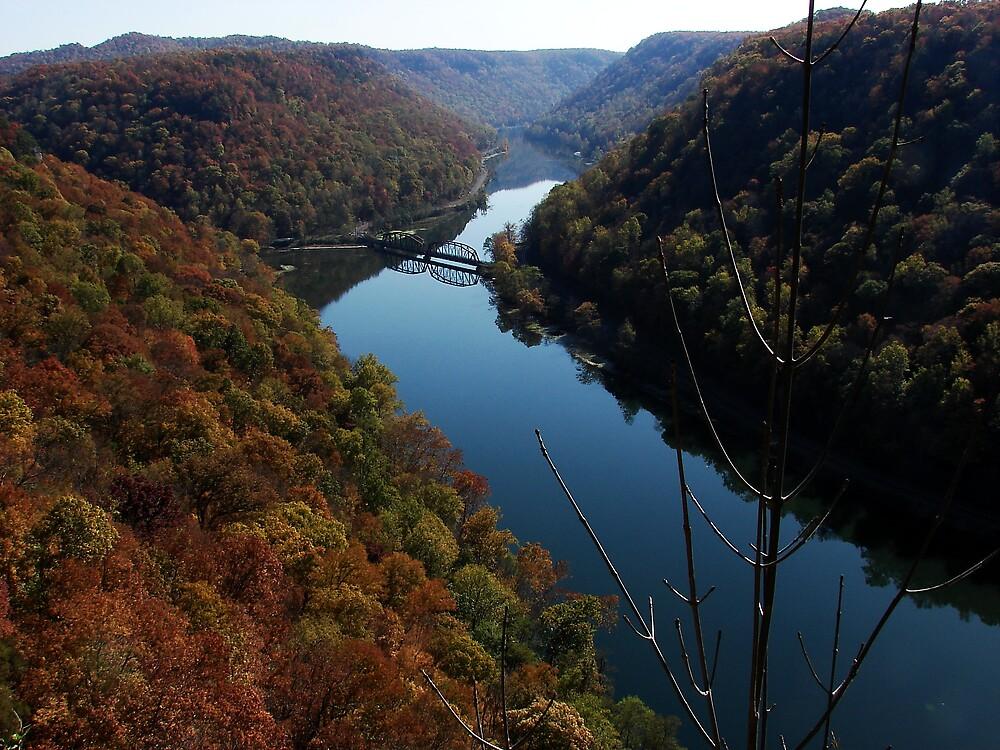 The New River Gorge by Brandy Bentz-Jackson