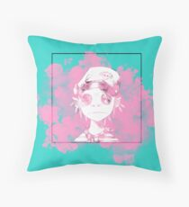 Pastel Meloncholy Throw Pillow