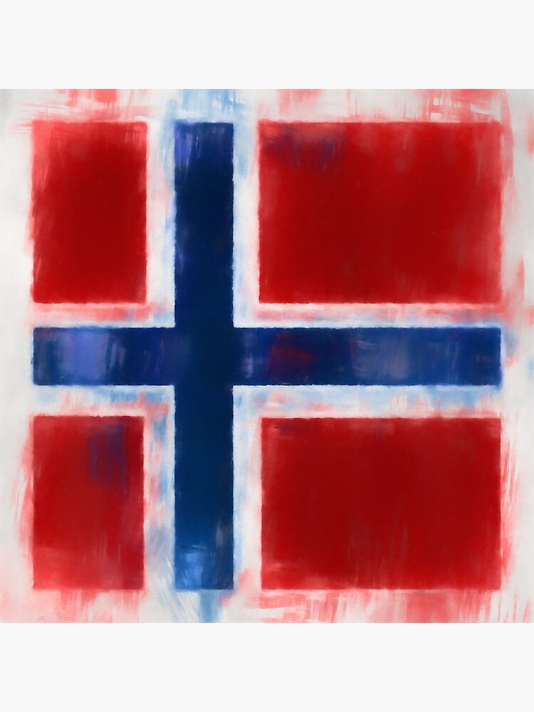 Norwegian Flag No. 2, Series 1 by 8th-and-f