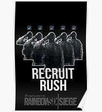 Recruit Rush | R6 Operator Series Poster