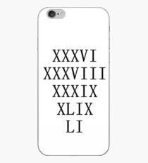 Patriots 5 Titles iPhone Case