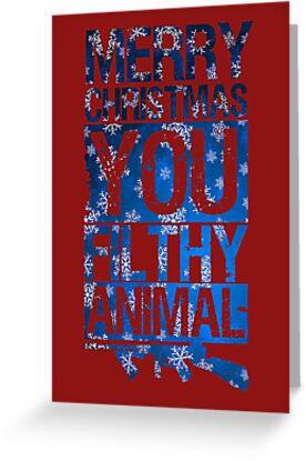 merry christmas you filthy animal by tonyara