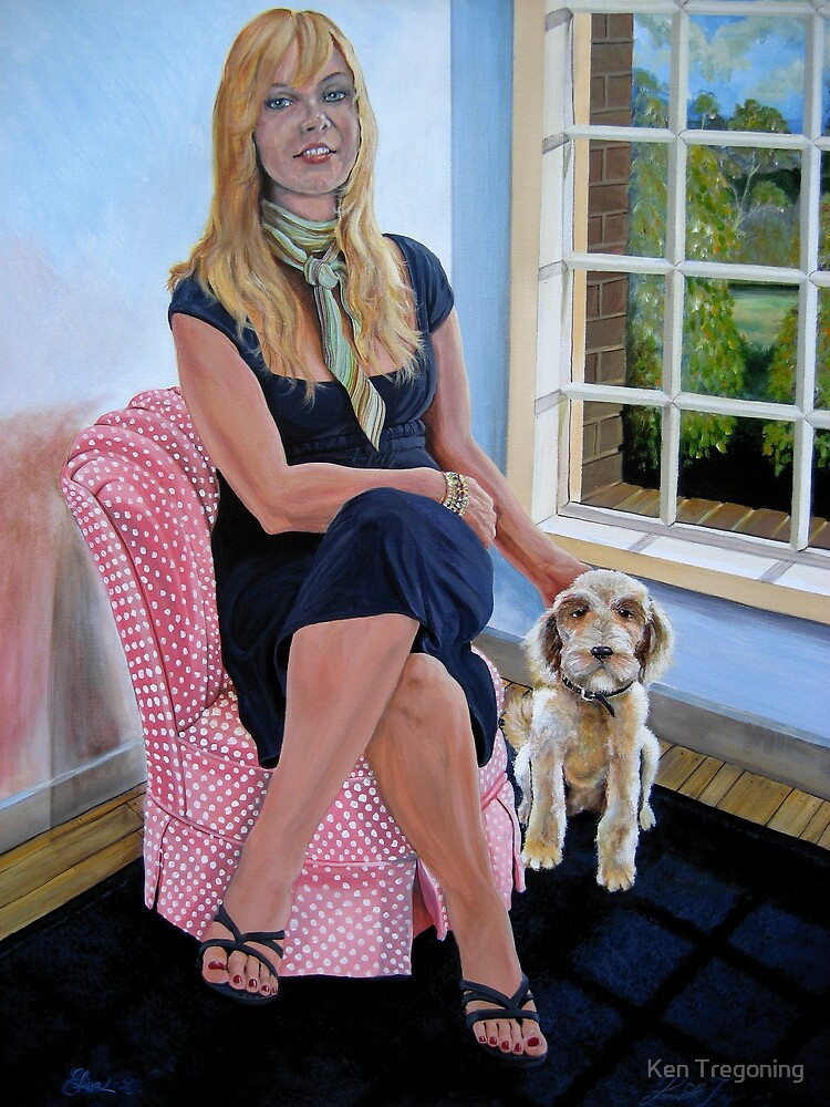 Elissa & Lola by Ken Tregoning