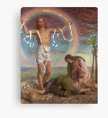 Rainbow Jesus Canvas Print