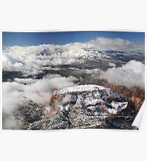 Snow on Kolob Poster