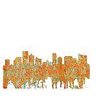 Atlantic City Skyline - Rost von Marlene Watson