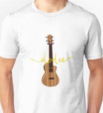 Dodie Clarks's Ukulele with Dodie Logo Unisex T-Shirt