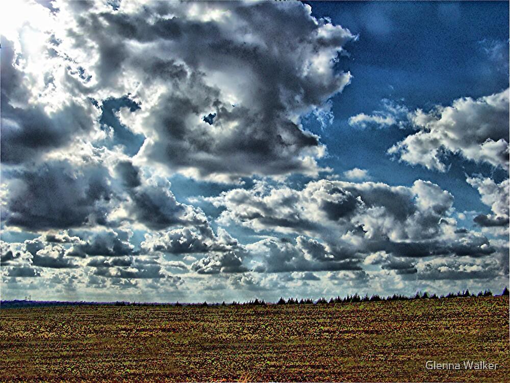 November Sky by Glenna Walker