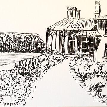 High fields Stanley Tasmania by Ian Shiel by Ruckrova