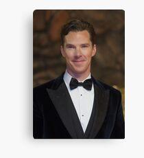 Benedict Cumberbatch - Oil Paint Art Canvas Print