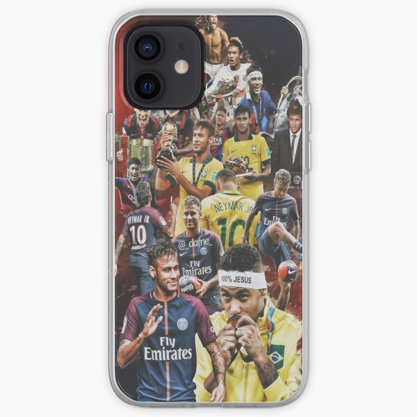 Neymar JR (From Santos to PSG +BRANT) iPhone Soft Case