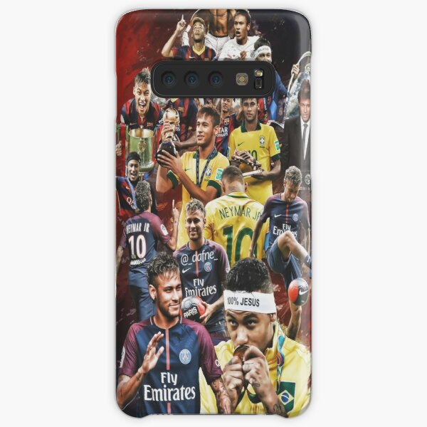 Neymar JR (De Santos a PSG + BRANT) Funda rígida para Samsung Galaxy