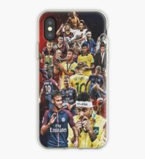 Neymar JR (From Santos to PSG +BRANT) iPhone Case
