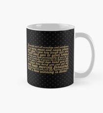"The world ain't... ""Rocky Balboa"" Inspirational Quote Mug"