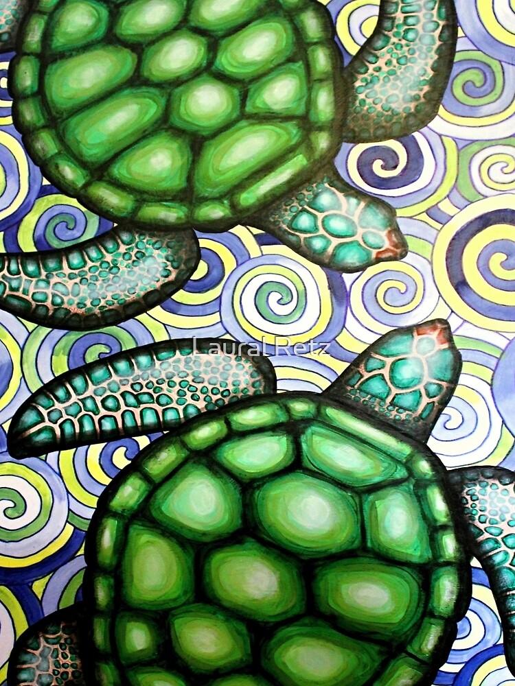 Turtle Tide in Spiralen von lauralretz