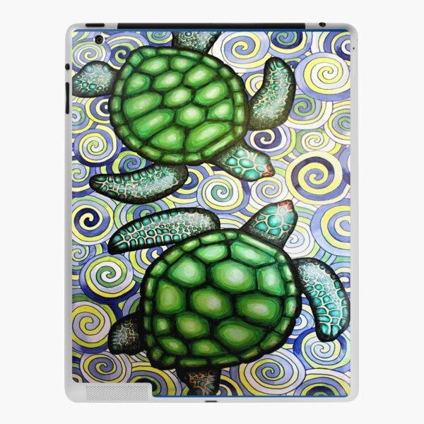 Turtle Tide in Spirals iPad Skin