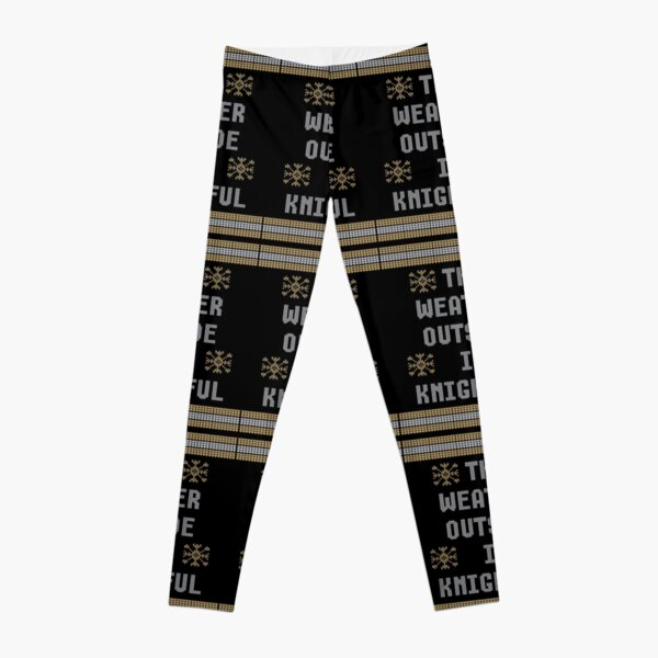 UCF Knights The Weather Outside Is KNIGHTFUL Shirt Leggings