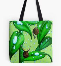 Playing in the Rain Tote Bag