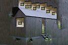 Black Tiny House by ellenmueller