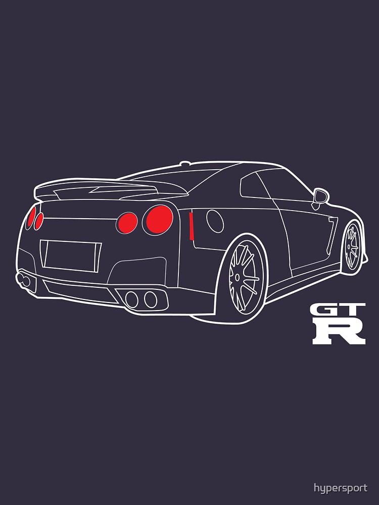 Nissan GT-R Blueprint\