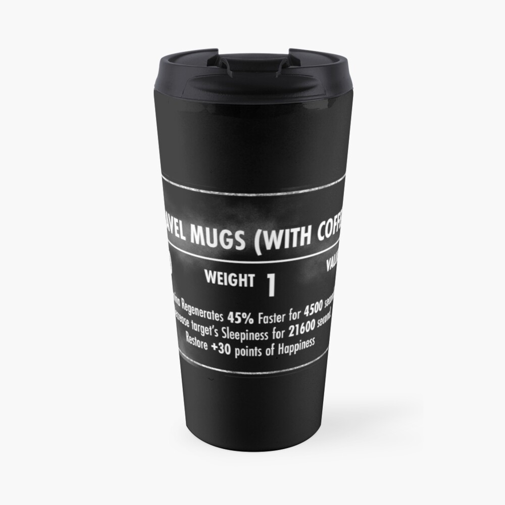 Valuable Items Travel Mug