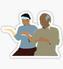 Karate Kid - Mr Miyagi - Daniel  Sticker
